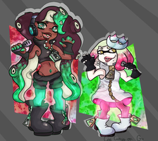 Pearl and Marina by FioraSBae