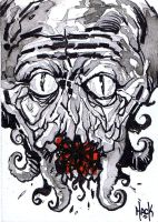 War of the Worlds sketchcard 19 by RobertHack