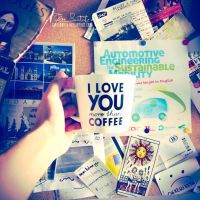 I love you more than coffee by giosolARTE
