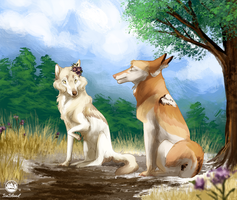 [WoLF] See? No sneeze. by IceIsland