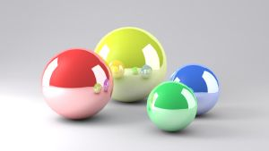 Metal Balls by FU51ON