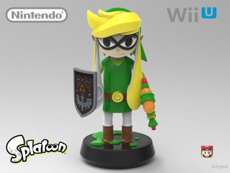 Splatoon Toon Link Amiibo! by Marty--McFly