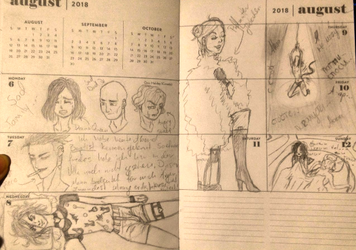 Vals Diary Week 32 by WhosLizzz