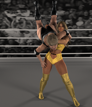6 - Dixie Takes A Slam by onek1995