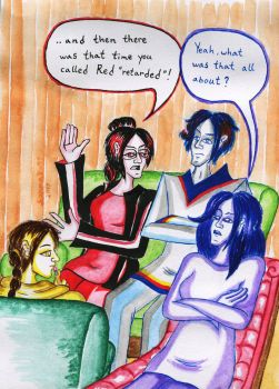 Family therapy by CosySister