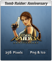 Tomb Raider Anniversary Icon by Th3-ProphetMan