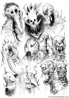 MONSTERS 01 by AustenMengler
