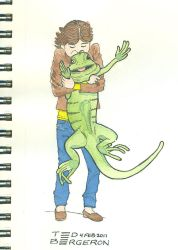 Have you hugged your iguana by tedbergeron