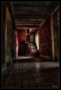 The Red Hall by Nichofsky