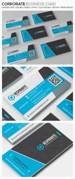 Corporate Business Card - RA81 by respinarte