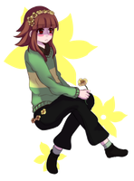+Ask blog+ Chara by Crystaliiisms