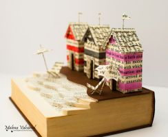 A Day by the Sea - Book Arts by MalenaValcarcel