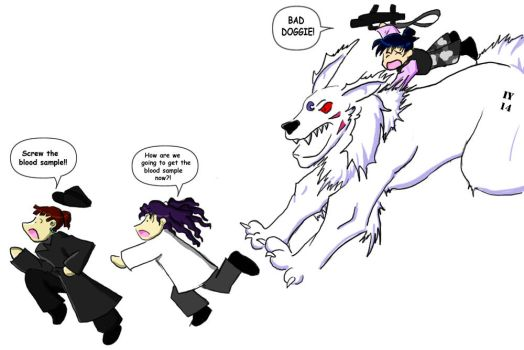Bad Doggie forCaitriona by Veg by Project-InuYoukai14
