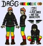 Weed Zombie by b3g-cry