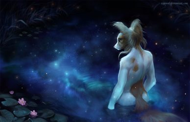 Wading Through the Stars by rajewel