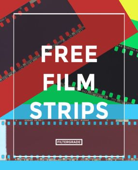 Free Film Strips Overlays by filtergrade