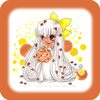 Coloring:  'Chibi Cookie' by almyki