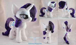 Rarity Plush 2.0 by dollphinwing