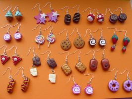 Boucles d'oreilles by Mangopearl