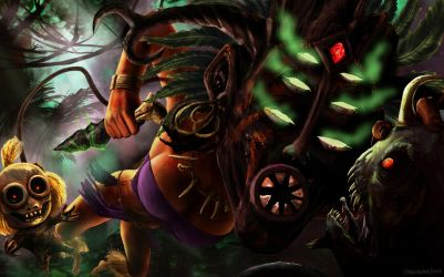 Jungling Witch Doctor by Ryoishen