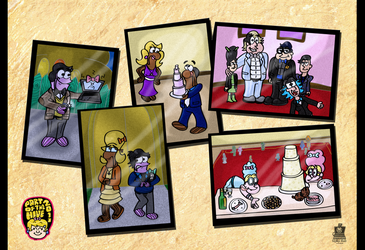 Art Jam Entry- Be Our Guests by LaptopGeek92