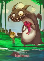 How to train your dragon - to eat fish by asadfarook