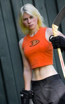Hockey Chick by Magical-Me