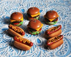 Fimo Junk Food by Madizzo