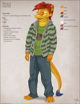 Thaz Reference Sheet by thazumi