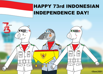 HAPPY (belated) 73rd INDEPENDENCE DAY! by bee2001