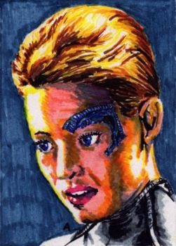 Seven of Nine - miniature by Andrzej5056