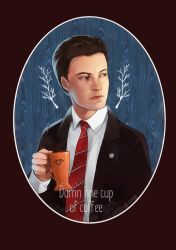 Special agent Dale Cooper by Moon-In-Milk