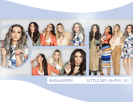 + PACK PNG 06 | LITTLE MIX by BadlandPng