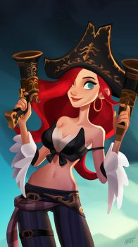 Miss Fortune by miacat7
