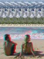 Anaglyph + Stereogram by 3Dimka