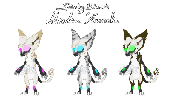 Mecha Fennek Auction by SpirityTheDragon