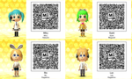 Vocaloid Qr Codes Tomodachi Life by GumballQR
