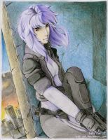 Major Motoko Kusanagi by Lady-Owl