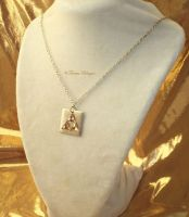 LOZ Triforce Swarovski Pendant Necklace by TorresDesigns