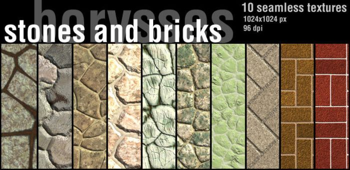 Stones and bricks by borysses