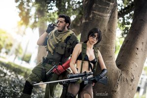 Quiet cosplay by Izzybella4