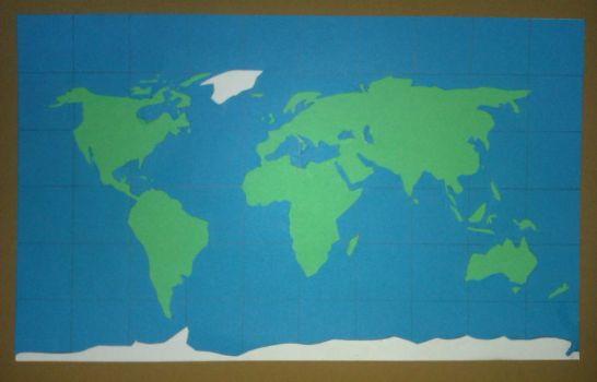 World Map by SarahMNomani