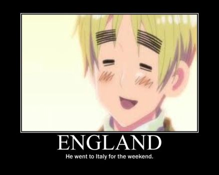 Hetalia England Motivational Poster by Mitchie98