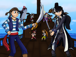 Turnabout Pirates by BlackRayquaza1