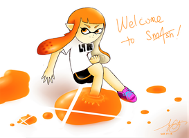 Welcome To Smash, Inkling! by 7colors0