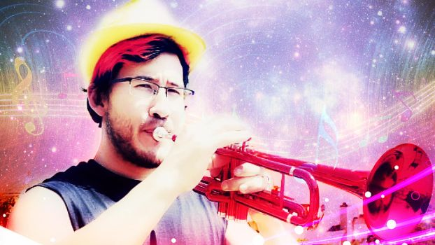 Markiplier Pink Tune by darkPegasista by PONYdBRONY