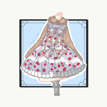 Lolita dress adopt Auction [OPEN] by yuki-white