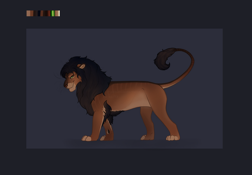 Lion Character Auction [CLOSED] by TheAdoptArtist