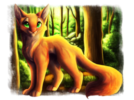 || Fireheart || by TabbyCat0066