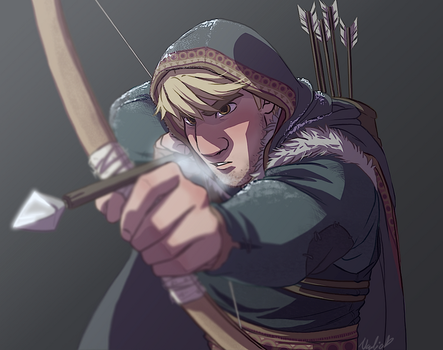 Ready, Set, Aim - Kristoff by NightLiight